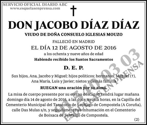 Jacobo Díaz Díaz